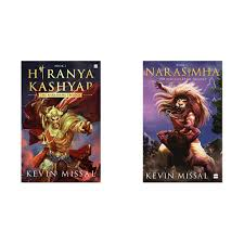 Buy Hiranyakashyap: The Narasimha Trilogy Book 2 + Narasimha: The  Mahaavatar Trilogy Book 1 (Set of 2 Books) Book Online at Low Prices in  India | Hiranyakashyap: The Narasimha Trilogy Book 2 +