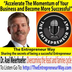 030: Accelerate The Momentum of Your Business and Become More Successful with Dr. Axel Meierhoefer