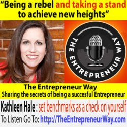 054: Being a Rebel and Taking a Stand to Achieve New Heights with Kathleen Hale, Rebel Desk Cofounder