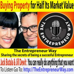 129: Buying Property for Half Its Market Value with Jack & Jill aka Jack Butala & Jill Dewit Founders of Land Academy & Land Stay