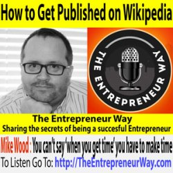 151: How to Get Published on Wikipedia with Mike Wood Founder and Owner of Legalmorning