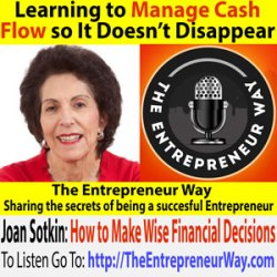 181: Learning to Manage Cash Flow so It Doesn't Disappear with Joan Sotkin Founder and Owner of Prosperity Place