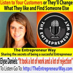 184: Listen to Your Customers or They'll Change What They like and Find Someone Else with Elyse Daniels Founder and Owner of Exodus Wear