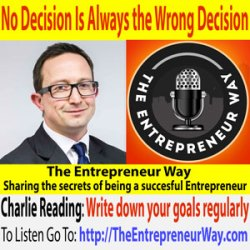 239: No Decision Is Always the Wrong Decision with Charlie Reading Founder and Owner of Efficient Portfolio