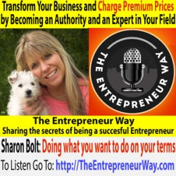238:  Transform Your Business and Charge Premium Prices by Becoming an Authority and an Expert in Your Field with Sharon Bolt Founder and Owner of Get Free Publicity Today