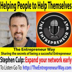 271: Helping People to Help Themselves with Serial Entrepreneur Stephen Culp co-Founder and Owner of Price Waiter and Delegator and Smart Furniture