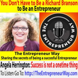 309: You Don't Have to Be a Richard Branson to Be an Entrepreneur with Angela Herrington Founder and Owner of Broken Beautiful Bold Ministries