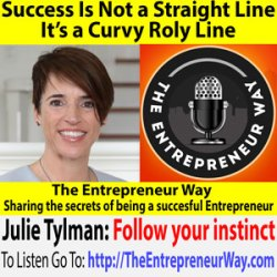 328: Success Is Not a Straight Line: It's a Curvy Roly Line with Julie Tylman Co-Founder and Co-Owner of Group Together