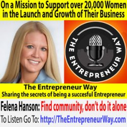 341: On a Mission to Support over 20,000 Women in the Launch and Growth of Their Business with Felena Hanson Founder and Owner of Hera Hub