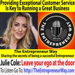 340: Providing Exceptional Customer Service Is Key to Running a Great Business with Julie Cole Co-Founder and Co-Owner of Mabel's Labels Inc