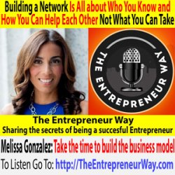353: Building a Network Is All about Who You Know and How You Can Help Each Other, Not What You Can Take with Melissa Gonzalez Founder and Owner of the Lionesque Group