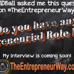 Do you have any Entrepreneurial Role Models?