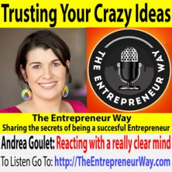 530: Trusting Your Crazy Ideas with Andrea Goulet Co-Founder and Co-Owner of Corgibytes