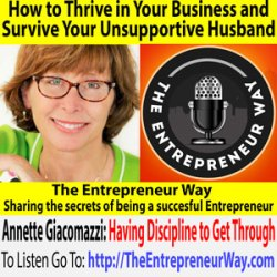 575: How to Thrive in Your Business and Survive Your Unsupportive Husband with Annette Giacomazzi Founder and Owner of Castcoverz!