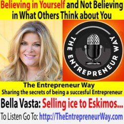 572: Believing in Yourself and Not Believing in What Others Think about You with Bella Vasta Founder and Co-owner of Jump Consulting