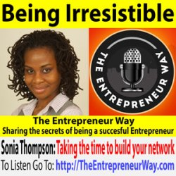 676: Being Irresistible with Sonia Thompson Founder and Owner of Try Business School