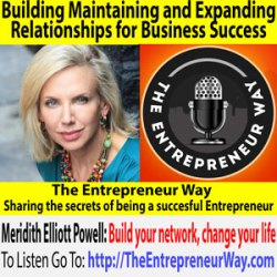 720: Building Maintaining and Expanding Relationships for Business Success with Meridith Elliott Powell