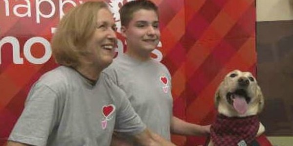 Local boy with epilepsy writes about dog, wins $5K for Fresno rescue