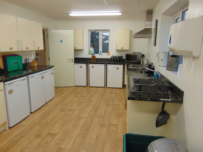 kitchen at caalm camp
