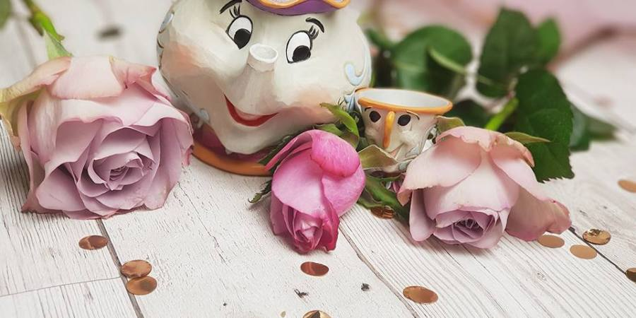 Mrs potts and chip ornament