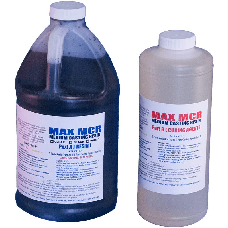 MAX MCR BLACK 96 OZ  - EPOXY RESIN CIRCUIT BOARD POTTING COMPOUND  WATERPROOF MASKING SEALANT - The Epoxy Experts