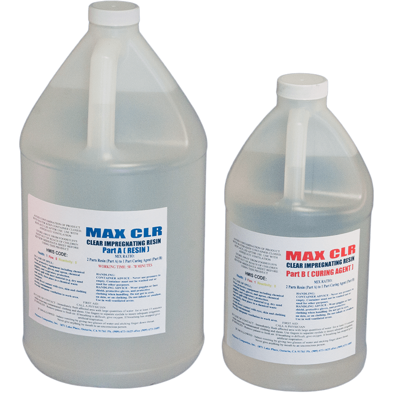 MAX CLR 1 5 GAL - EPOXY RESIN FOOD SAFE FDA COMPLIANT VERY CLEAR HIGH  IMPACT COATING - The Epoxy Experts