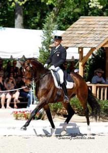 Steffen Peters rides Legolas 92