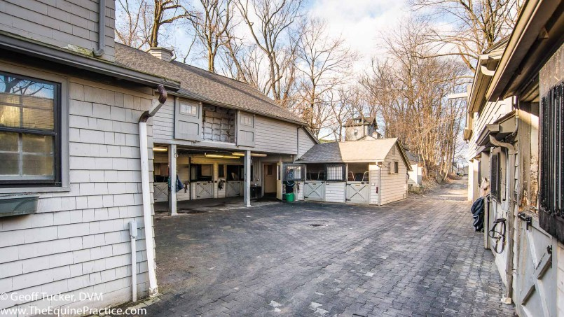 "The ""Pony Barn"" in Bedford Hills, NY where I worked and met my wife in 1976.  This is the exact spot where I first saw Kathy."