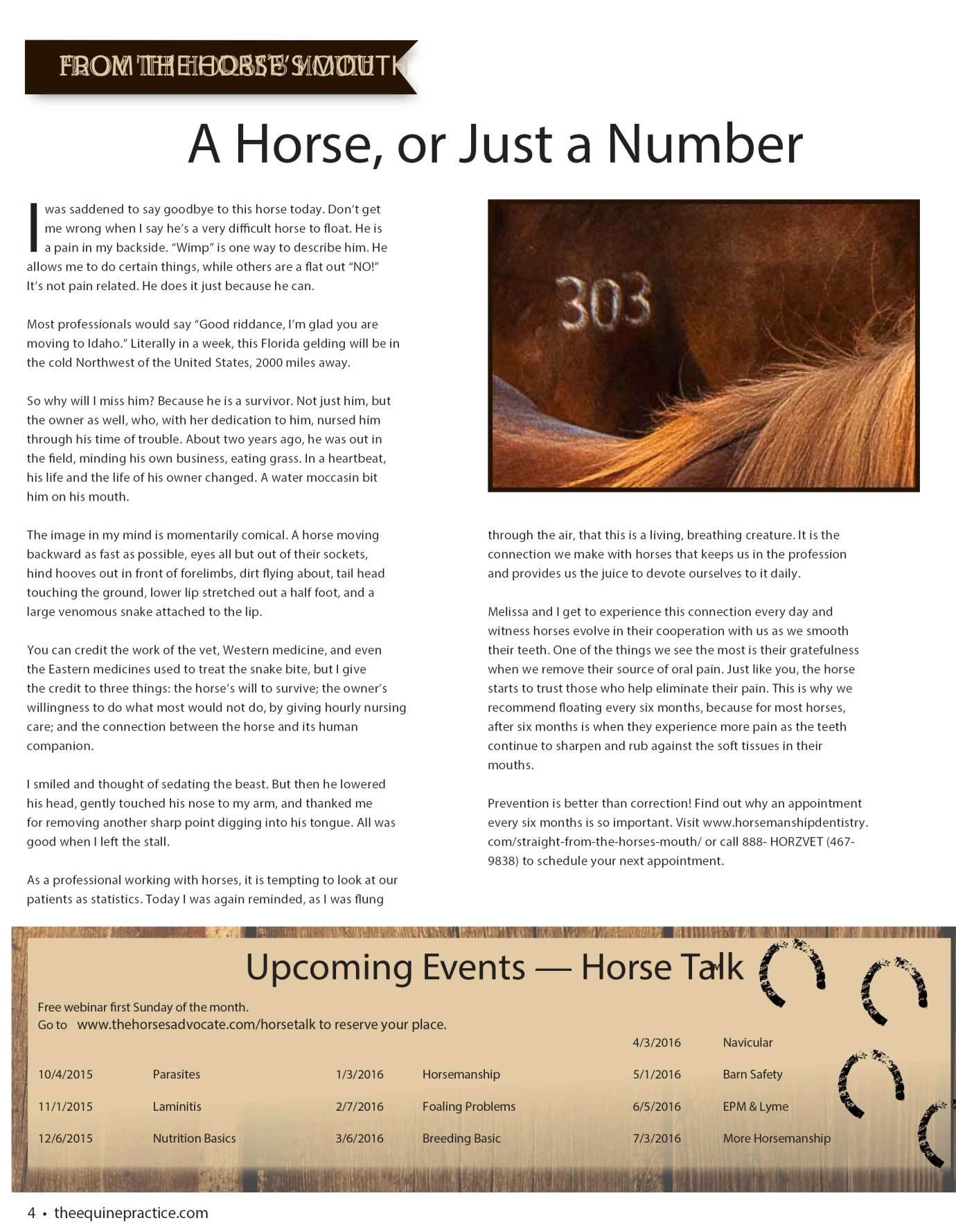 The Equine Practice Rounds™ November 2015 page 2 of 4