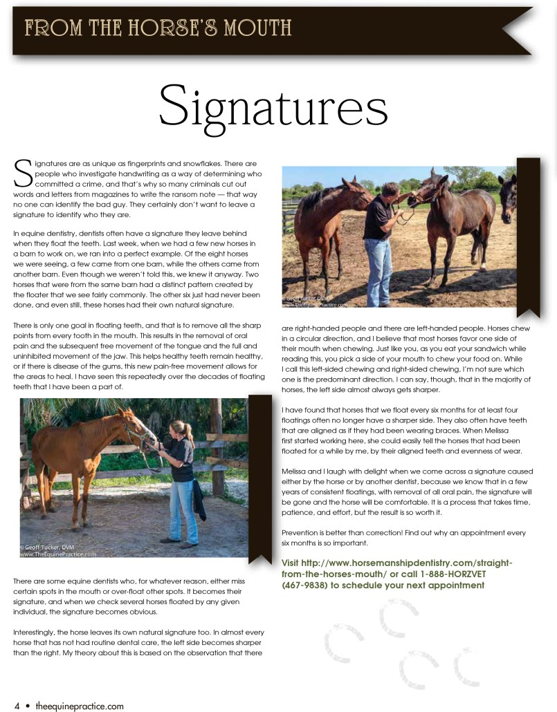 The Equine Practice Rounds™ December 2015 page 4 of 4