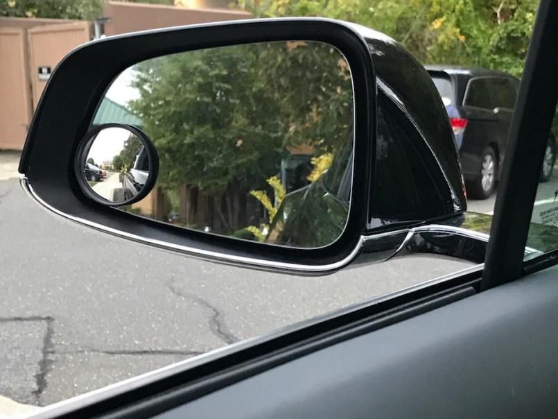 Tesla convex mirror