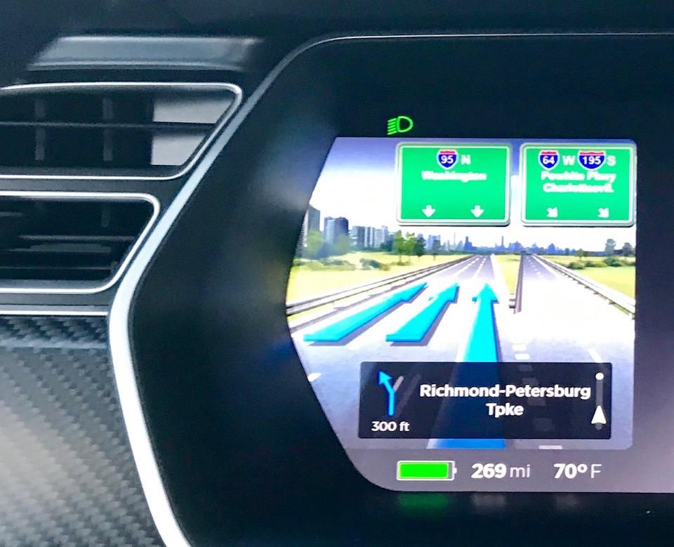 Tesla nav system 9