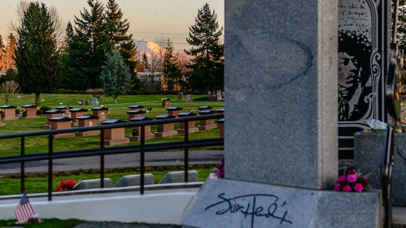 The Equine Practice Inc, Jimi Hendrix Memorial
