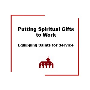 Cover, Putting Spiritual Gifts to Work book
