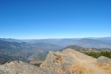 View from the Mukteshwar cliff