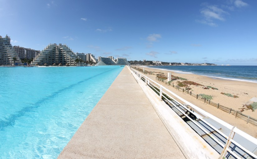 Having the World's Biggest Pool All to Ourselves