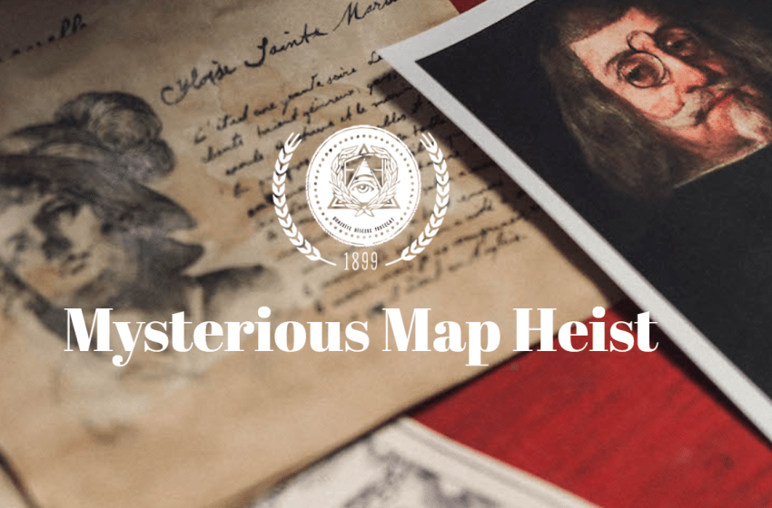 Society of Curiosities: Mysterious Map Heist
