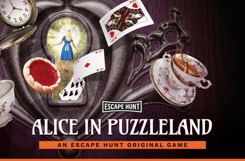 Escape Hunt: Alice in Puzzleland