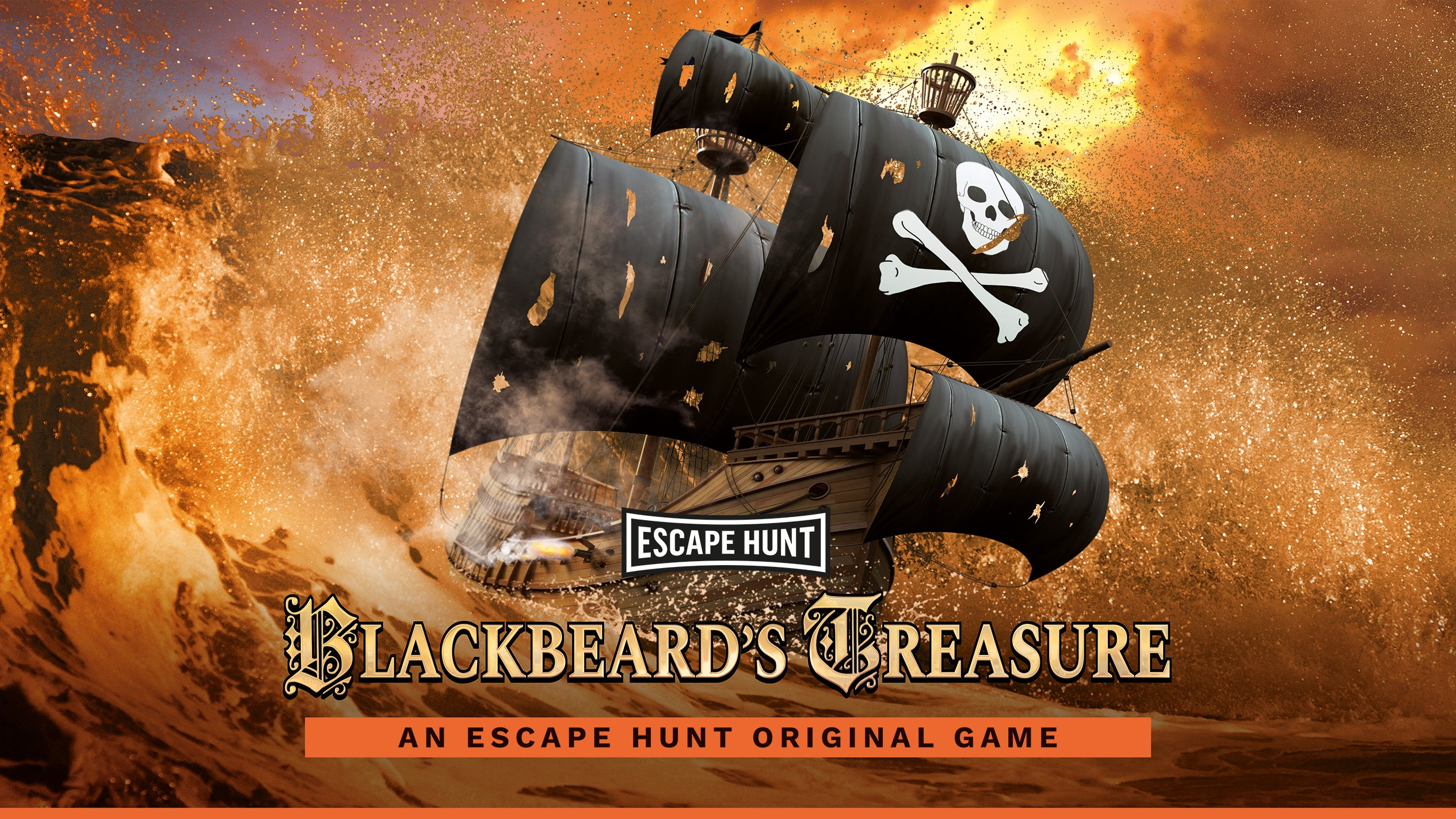 Escape Hunt: Blackbeard's Treasure