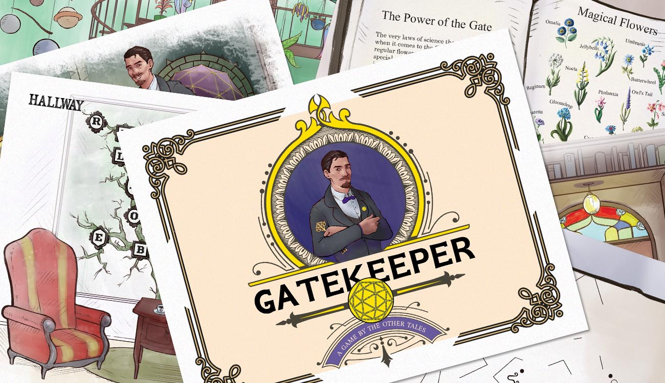 The Other Tales Printable Escapes: Gatekeeper