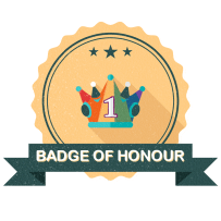 The Escape Roomer Badge Badge of Honour