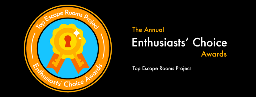 TERPECA Top Escape Room Enthusiasts Choice Awards 2021