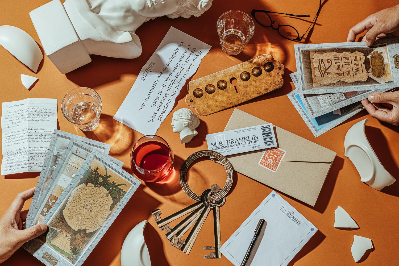 Curious Correspondence Club: The Custodian's Keys | Review
