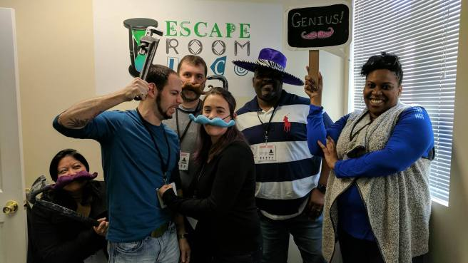 Team Disturbed Friends (Jason, Mike, Dalia, Alphonzo and Stephanie) solved the murder and caught the serial killer!