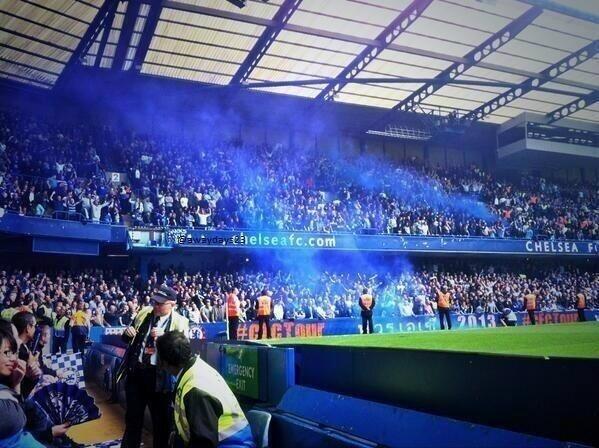 away at Stamford Bridge