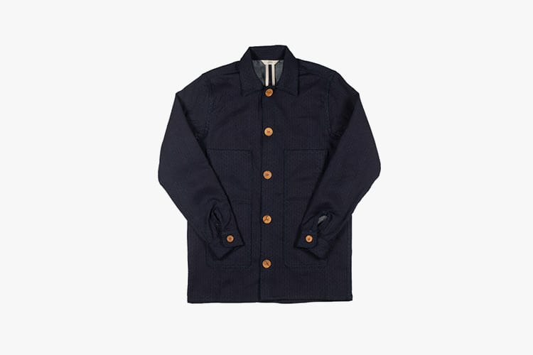 3sixteen indigo sashiko workjacket