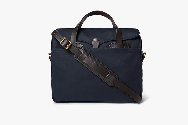 Filson Leather Trimmed Briefcase