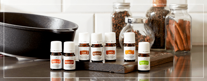 Vitality Oils Young Living Culinary Collection