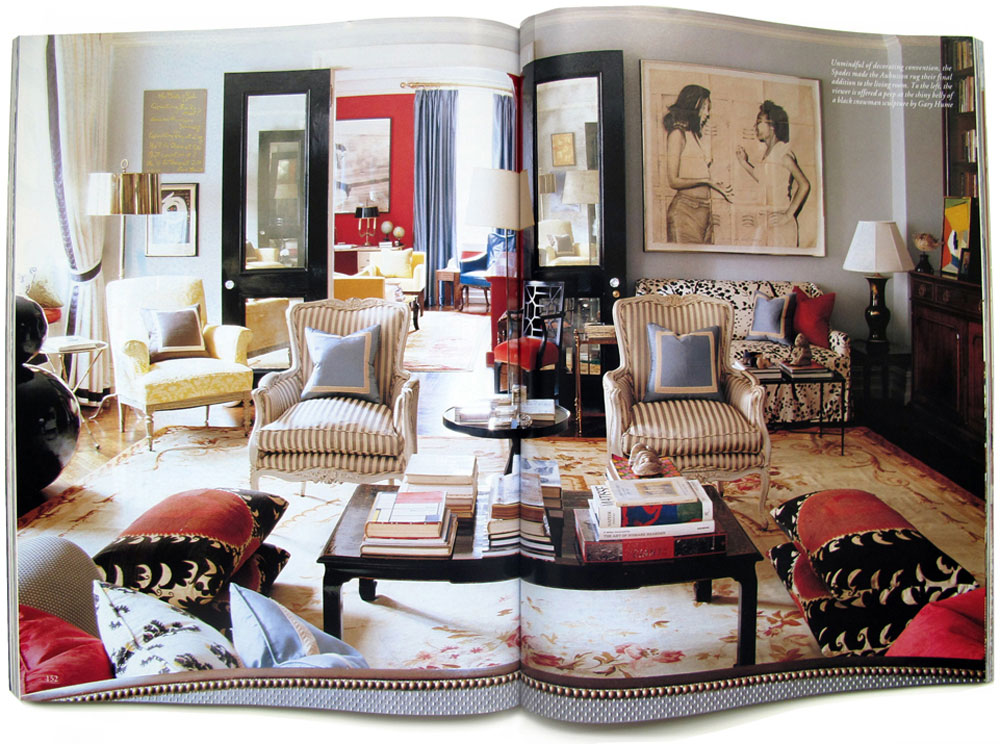 The Park Avenue Pre War Apartment Of Designer Kate Spade And Her Husband  Andy Is Amazing.