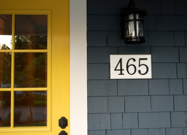 Indiana House Exterior The yellow front door The Estate of Things Sarah Farrell.jpg
